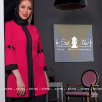 مانتو زنانه پارچه مازراتی فروشگاه شیک مد - مشاهده مشخصات ، قیمت و خرید