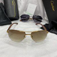 خرید عینک کارتیرمردانه دسته چوب اورجینال در فروشگاه اینترنتی پوشاکچی-مشاهده قیمت و مشخصات