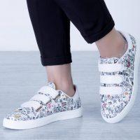 خرید کتونی دخترانه ونس سه چسب در فروشگاه اینترنتی پوشاکچی-مشاهده قیمت و مشخصات
