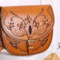 خرید کیف دوشی زنانه چرم در فروشگاه اینترنتی پوشاکچی-مشاهده قیمت و مشخصات