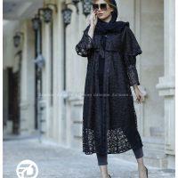 خرید مانتو شنل دار نازلی در فروشگاه اینترنتی پوشاکچی - مشاهده مشخصات و قیمت