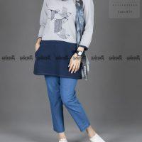 خرید تن پوش زنانه مدل پرستو کد 874 در فروشگاه اینترنتی پوشاکچی-مشاهده قیمت و مشخصات