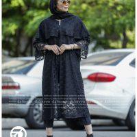 خرید مانتو زنانه شنل دار نازلی در فروشگاه اینترنتی پوشاکچی-مشاهده قیمت و مشخصات
