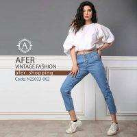خريد شلوار جین زنانه مام فیت در فروشگاه اينترنتي پوشاکچي - مشاهده قيمت و مشخصات