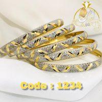 خرید النگو نقره کد 1234 در فروشگاه اينترنتي پوشاکچي - مشاهده قيمت و مشخصات