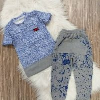 خريد تیشرت شلوار اسپرت طرح رنگ در فروشگاه اينترنتي پوشاکچي - مشاهده قيمت و مشخصات