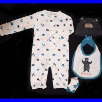 خرید ست نوزادی پسرانه طرح خرس در فروشگاه اينترنتي پوشاکچي - مشاهده قيمت و مشخصات