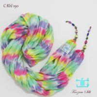 خرید شال چروک ابریشمی آویزدار رنگی Rhl 190 در فرزوشگاه اینترنتی پوشاکچی-مشاهده قیمت و مشخصات