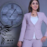خرید کت شلوار زنانه کد 116 در فروشگاه اینترنتی پوشاکچی-مشاهده قیمت و مشخصات