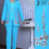 خرید کت شلوار زنانه کد 112 در فروشگاه اینترنتی پوشاکچی-مشاهده قیمت و مشخصات