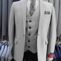 خرید کت شلوار مردانه یقه بلیز با ژیله هفت در فروشگاه اینترنتی پوشاکچی-مشاهده قیمت و مشخصات