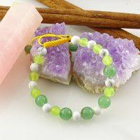 خرید دستبند زنانه سنگ بافت هولیت در فروشگاه اینترنتی پوشاکچی-مشاهده قیمت و مشخصات