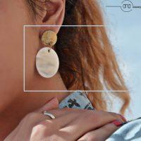 خرید گوشواره زنانه صدفی در فروشگاه اینترنتی پوشاکچی-مشاهده قیمت و مشخصات
