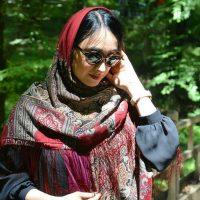 خرید روسری نخی ترکمن طرح پرچم در فروشگاه اینترنتی پوشاکچی-مشاهده قیمت و مشخصات