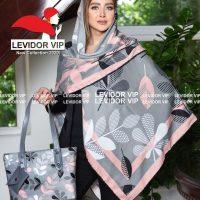 خريد ست کیف و روسری زنانه طرح برگ در فروشگاه اينترنتي پوشاکچي - مشاهده قيمت و مشخصات