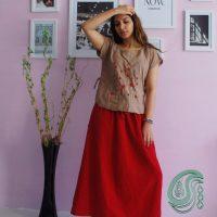 خريد تاپ تابستانه مدل شمس زنانه در فروشگاه اينترنتي پوشاکچي - مشاهده قيمت و مشخصات