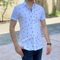خريد پیراهن هاوایی مردانه Slim Fit در فروشگاه اينترنتي پوشاکچي - مشاهده قيمت و مشخصات