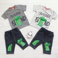خريد تیشرت شلوارک طرح کروکودیل در فروشگاه اينترنتي پوشاکچي - مشاهده قيمت و مشخصات