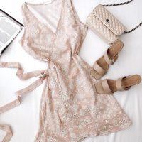 خريد پیراهن گلدار آستین حلقه ای زنانه در فروشگاه اينترنتي پوشاکچي - مشاهده قيمت و مشخصات