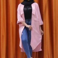 خريد مانتو زنانه آلما در فروشگاه اينترنتي پوشاکچي - مشاهده قيمت و مشخصات
