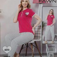خريد تیشرت شلوار زنانه طرح قلب در فروشگاه اينترنتي پوشاکچي - مشاهده قيمت و مشخصات