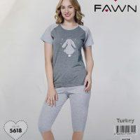 خريد تیشرت شلوارک زنانه طرح خرگوش در فروشگاه اينترنتي پوشاکچي - مشاهده قيمت و مشخصات
