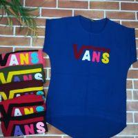 خريد تیشرت زنانه طرح Vans در فروشگاه اينترنتي پوشاکچي - مشاهده قيمت و مشخصات