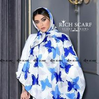 خريد روسری نخی طرح پروانه در فروشگاه اينترنتي پوشاکچي - مشاهده قيمت و مشخصات