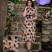 خرید پیراهن بارداری وشیردهی مدل باربری در فروشگاه اینترنتی پوشاکچی-مشاهده قیمت و مشخصات