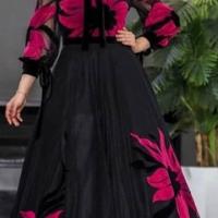 خريد پیراهن مجلسی زنانه طرح گلدار کد 15687 در فروشگاه اينترنتي پوشاکچي - مشاهده قيمت و مشخصات