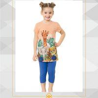 خرید ست دخترانه تیشرت شلوارک اوزکان در فروشگاه اینترنتی پوشاکچی-مشاهده قیمت و مشخصات