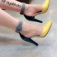خرید کفش زنانه استلتتو دورنگ در فروشگاه اینترنتی پوشاکچی-مشاهده قیمت و مشخصات
