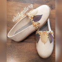 خريد کفش کنفی زنانه طرح برگ کد 16578 در فروشگاه اينترنتي پوشاکچي - مشاهده قيمت و مشخصات