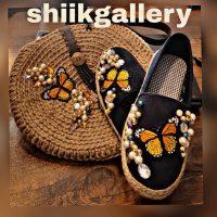 خريد کیف و کفش کنفی زنانه طرح پروانه کد 16572 در فروشگاه اينترنتي پوشاکچي - مشاهده قيمت و مشخصات
