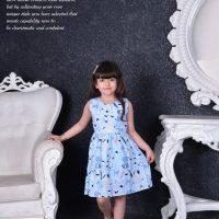 خريد سارافون دخترانه طرحدار کد 15689 در فروشگاه اينترنتي پوشاکچي - مشاهده قيمت و مشخصات