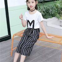 خرید ست دو تکه تیشرت و شلوار دخترانه برمودا کد 17407 در فروشگاه اینترنتی پوشاکچی-مشاهده قیمت و مشخصات