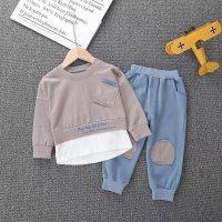 خرید ست دو تکه بلوز و شلوار پسرانه کد 17718 در فروشگاه اینترنتی پوشاکچی-مشاهده قیمت و مشخصات