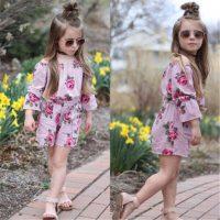 خرید سرهمی دخترانه مدل گل سرخی کد 17628 در فروشگاه اینترنتی پوشاکچی-مشاهده قیمت و مشخصات