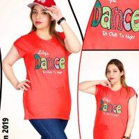 خرید تیشرت آستین سرخود Dance در فروشگاه اینترنتی پوشاکچی-مشاهده قیمت و مشخصات