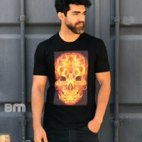 خرید تیشرت نخی مردانه در فروشگاه اینترنتی پوشاکچی-مشاهده قیمت و مشخصات
