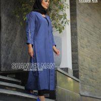 خرید مانتو زنانه مدل آستین زیپ دار در فروشگاه اینترنتی پوشاکچی-مشاهده قیمت و مشخصات