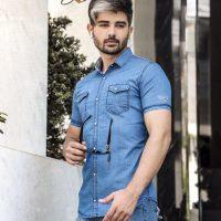 خرید پیراهن لی کاغذی مردانه کد 17702 در فروشگاه اینترنتی پوشاکچی-مشاهده قیمت و مشخصات