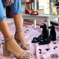 خريد کفش پاشنه بلند زنانه کد ۱۷۴۹۹ در فروشگاه اينترنتي پوشاکچي - مشاهده قيمت و مشخصات