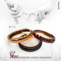 خرید دستبند چرم طبیعی مدل I 500 در فروشگاه اینترنتی پوشاکچی-مشاهده قیمت و مشخصات