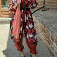 خرید مانتو دو تکه زنانه طرح رسپینا در فروشگاه اینترنتی پوشاکچی-مشاهده قیمت و مشخصات