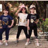 خريد تیشرت شلوارک دخترانه طرح Angel در فروشگاه اينترنتي پوشاکچي - مشاهده قيمت و مشخصات
