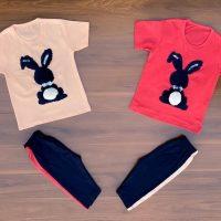 خريد تیشرت شلوارک دخترانه طرح خرگوش در فروشگاه اينترنتي پوشاکچي - مشاهده قيمت و مشخصات