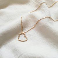 خرید گردنبند قلب طلا کد nc200 در فروشگاه اینترنتی پوشاکچی-مشاهده قیمت و مشخصات