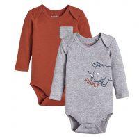 خرید پک دوتایی بادی نوزادی پسرانه مارک لوپیلو آلمان در فروشگاه اینترنتی پوشاکچی-مشاهده قیمت و مشخصات
