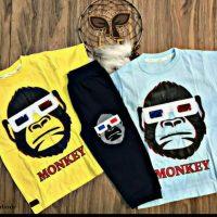 خريد تیشرت شلوارک پسرانه طرح Monkey در فروشگاه اينترنتي پوشاکچي - مشاهده قيمت و مشخصات